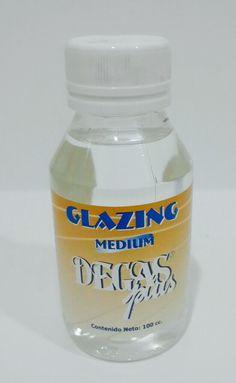 Glaze medium #degasplus