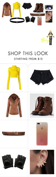 """""""RWBY Modern"""" by getjinxed205 on Polyvore featuring Jacquemus, WithChic, American Eagle Outfitters, STELLA McCARTNEY, Kate Spade, Hot Topic, Anne Sisteron, Lynn Ban and modern"""