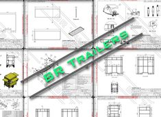 Trailer Plans, Food Trailer, Trailers, How To Plan, Adhesive, Dibujo, Business, Hang Tags