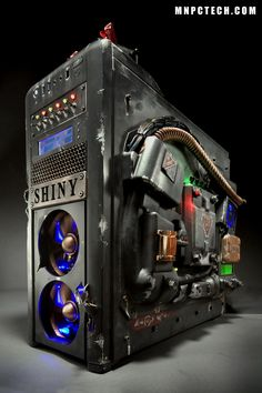 Rad PC designed as a tribute to Firefly/Serenity, some people are so geek talented! :)