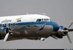 Yet again a magnificent air display from this old lady! - Photo taken at Pretoria - Waterkloof (FAWK) in South Africa on September Douglas Dc 4, Mcdonald Douglas, South African Air Force, Douglas Aircraft, Transportation Technology, Passenger Aircraft, Aircraft Painting, Commercial Aircraft, Aviation