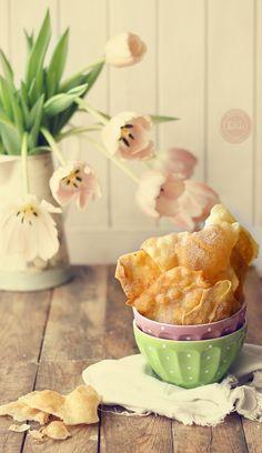 Kanela y Limón: Orejas de carnaval crujientes #recetas #Easter #Semanasanta