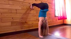 Yoga Pose of the Week: Downward Dog on the Wall & Handstand – Alex and Ani