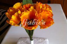 Dekoracija za tortu, Šećerno cvijeće