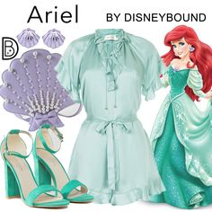 DisneyBound is meant to be inspiration for you to pull together your own outfits which work for your body and wallet whether from your closet or local mall. As to Disney artwork/properties: ©Disney Princess Inspired Outfits, Disney Princess Outfits, Cute Disney Outfits, Disney Themed Outfits, Disney Inspired Fashion, Disney Bound Outfits, Disney Dresses, Cool Outfits, Disney Fashion