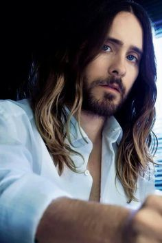 Jared Leto ~ Thirty Seconds to Mars~This is what 42 years old now looks like. Young men, take notes.