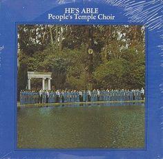 BRO-3 LP PEOPLE'S TEMPLE CHOIR He's Able OOP NEW VINYL Jim Jones Jonestown