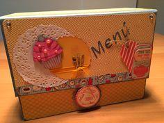 """""""Cookies""""  (recetario tipo caja)."""