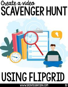 Learn how to create an engaging scavenger Fliphunt for the end of the year using Flipgrid. Students will love completing tasks and sharing the video results on Flipgrid! What is a Fliphunt on Flipgrid? I first learned about Fliphunts from Kathi Kersznowsk Teaching Technology, Educational Technology, Technology Humor, Energy Technology, Instructional Technology, Instructional Strategies, Online Classroom, Classroom Teacher, End Of School Year
