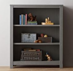RH Baby & Child's Kenwood Bookcase:Kenwood's planked panels borrow from the vernacular architecture of old American barns.