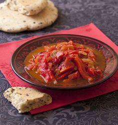 Photo de la recette : Choukchouka aux tomates et poivrons