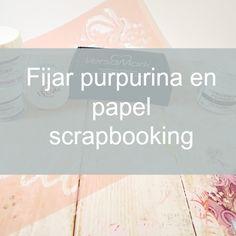 A qué huele el Scrap: Tutorial album san valentín con cartón corrugado