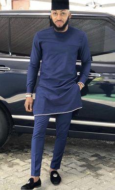 Stylish senator wears for the fashionistas - DarlingNaija African Shirts For Men, African Dresses Men, African Attire For Men, African Clothing For Men, African Wear, African Outfits, Nigerian Men Fashion, Indian Men Fashion, Mens Fashion