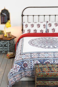 Magical Thinking Temple Medallion Duvet Cover #urbanoutfitters