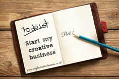 How to start a creative business -good business pan here