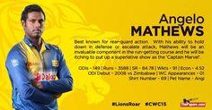 SRI LANKA SQUAD ICC CRICKET WORLD CUP 2015 | CRICKET NEWS