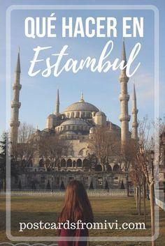 Qué hacer en Estambul en 24 hs ? La guía para tu escala en la capital de Turquía #Turquía #Estambul