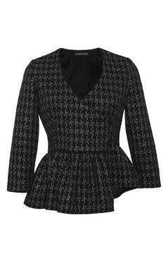 Asymmetrical Lurex Jacket by Kalmanovich
