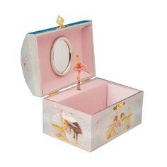 Ampliar imagem de: Caixa de música baú 2 bailarinas banco
