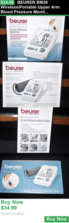 Blood Pressure Monitoring 75072: Beurer Bm26 Wireless/Portable Upper Arm Blood Pressure Monitor BUY IT NOW ONLY: $34.99