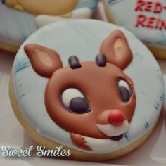 Rudolph the Red-Nosed Reindeer Cookies!