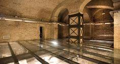 Le Domus Romane di Palazzo Valentini Photo... brownstone winesellar?