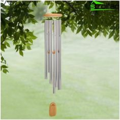 Create a symbol of good luck for Feng Shui - a wind chime