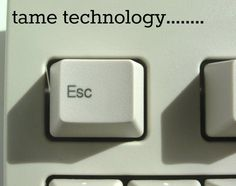 Tame Technology by @Christina & Brandt at @Teresa Skinner Online
