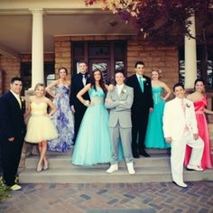 prom group photo ideas
