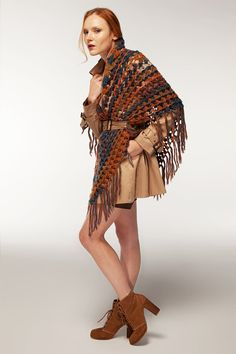 Earth Colored Shawl Sofie Handmade New Collection by Wonderhand, $79.00