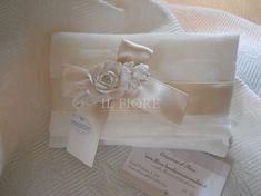 Bomboniera busta linea shabby chic con fiore NUOVISSIMA cod. 359E - 359E1