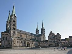 Bamberg Cathedral ~ in the World Heritage town of Bamberg, Germany