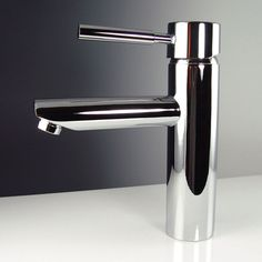 Shop Fresca Tartaro Chrome 1-Handle Single Hole Bathroom Sink Faucet at Lowes.com