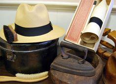 "Doblar un Sombrero Panamá by Sombrerería Albiñana. ""Panama Hat"""