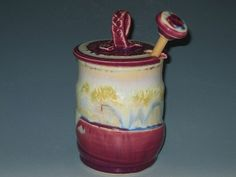 Honey Pot Honey Jar Early Black Friday by earthtoartceramics, $45.00