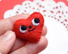 Little felt heart