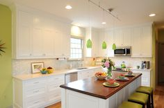 Green with envy from this Ketron Custom Builders kitchen