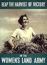 Women's Land Army recruitment poster ~ nationalarchives.gov.uk