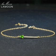 Cheap bracelet bracelet, Buy Quality bracelet charms bracelet directly from China bracelet 925 Suppliers: LAMOON Natural Green Diopside 925 Sterling Silver Jewelry Chain Charm Bracelet Cheap Bracelets, Metal Bracelets, Book Jewelry, Fine Jewelry, Jewellery, Book Necklace, Arrow Necklace, Garnet Pendant, Purple Amethyst