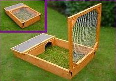 outdoor cages for tortioses | Ref: T2 ( Back to Tortoise Table / Box / Run / Pen )
