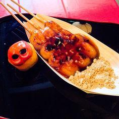 Mitarashi-Dango #mizumushikun #dango #japan #japanese #japanesesweets #mitarashidango #yummy #nomnom #delicious #kyoto
