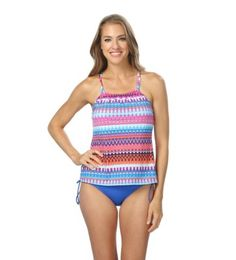 350e0a9fb142d and Ocean Plus Savanna Racerback Tankini Top and HighWaist Bottom