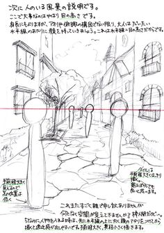 Perspective Drawing, Pose Reference, Scenery, Diagram, Concept, Drawings, Painting, Design, Drawing Lessons