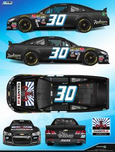 Josh Wise's #30 Crawfest New Braunfels Chevy