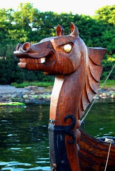 Viking figurehead