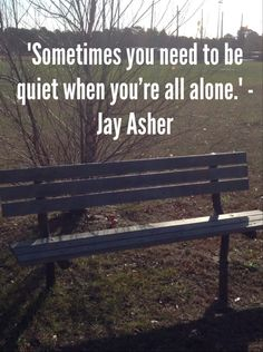 - Jay Asher (Thirteen Reasons Why) 13 Reasons Why Quotes, Thirteen Reasons Why, Writing Quotes, Book Quotes, Really Good Movies, Books For Teens, Favorite Words, Quote Aesthetic, Masking