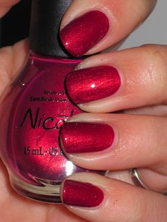 Berry Sweet Nicole by OPI - prepping my toes for summer even if the weather still says it's winter