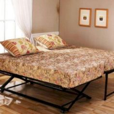 Looking for bunk beds or trundle beds for sale? Find the best twin trundle bed, pop up trundle beds for your home Queen Daybed Frame, Day Bed Frame, Bed Frames, King Frame, Pop Up Trundle Bed, Trundle Mattress, Trundle Beds, Twin Futon, Twin Beds