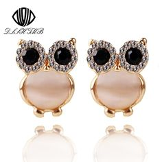 Best price on Fashion Gold Plated Earrings Austrian Crystal Owl     Price: $ 9.80  & FREE Shipping     Your lovely product at one click away:   https://mrowlie.com/2016-hot-sale-cute-animal-earrings-for-women-18k-gold-plate-austrian-crystal-owl-earring-studs-jewelry-brinco/     #owl #owlnecklaces #owljewelry #owlwallstickers #owlstickers #owltoys #toys #owlcostumes #owlphone #phonecase #womanclothing #mensclothing #earrings #owlwatches #mrowlie #owlporcelain