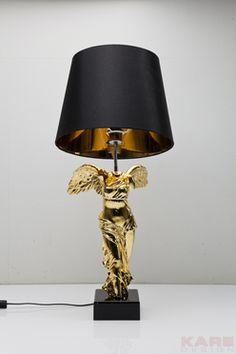 Table Lamp Headless Angel Gold by KARE Design #lamp #gold #glamour #blingbling #glitter #diamonds #sparkle #KARE #KAREDesign